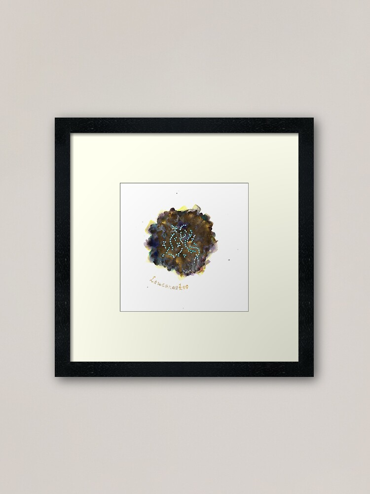 Alternate view of Leuconostoc Art Prints Framed Art Print