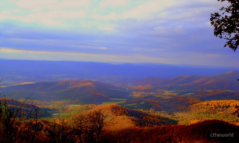 Rolling Virginia Hills by ctheworld