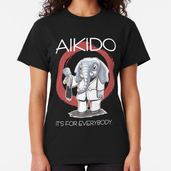 Aikido - it's for everybody (dunkel) Classic T-Shirt