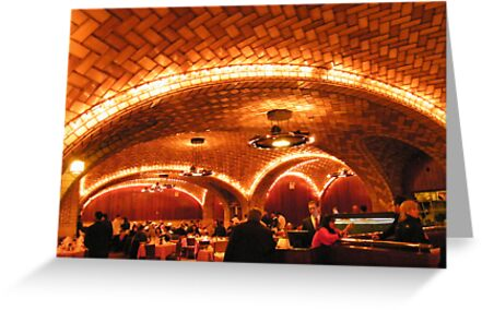 Historic Oyster Bar Restaurant, Grand Central Terminal by lenspiro