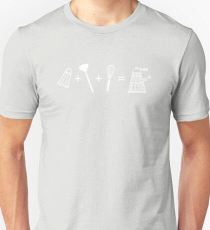 Shaker + Plunger + Whisk = EXTERMINATE! T-Shirt