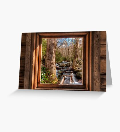 Tub Mill -  Window Greeting Card