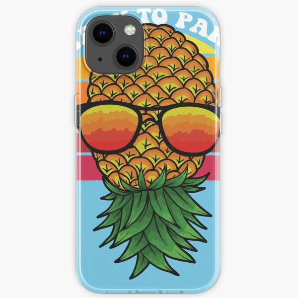 Pinneaple Art Gift For Swingers iPhone Soft Case