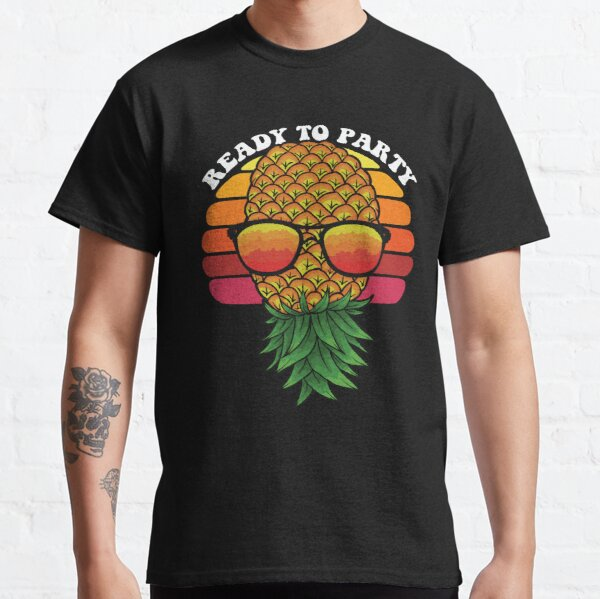Pinneaple Art Gift For Swingers Classic T-Shirt
