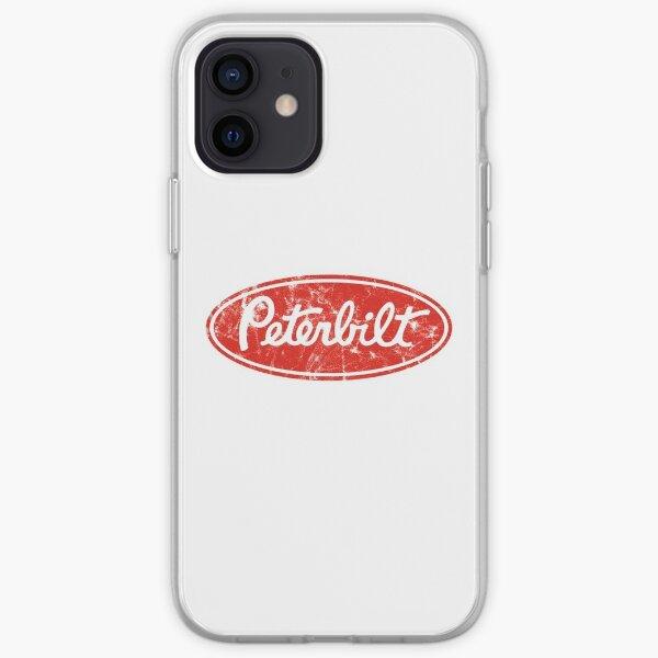 Peterbilt logo (distressed) iPhone Soft Case