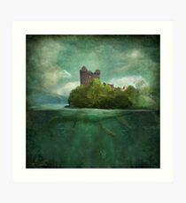 'Under The Castle'  Art Print