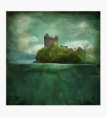 'Under The Castle'  Photographic Print