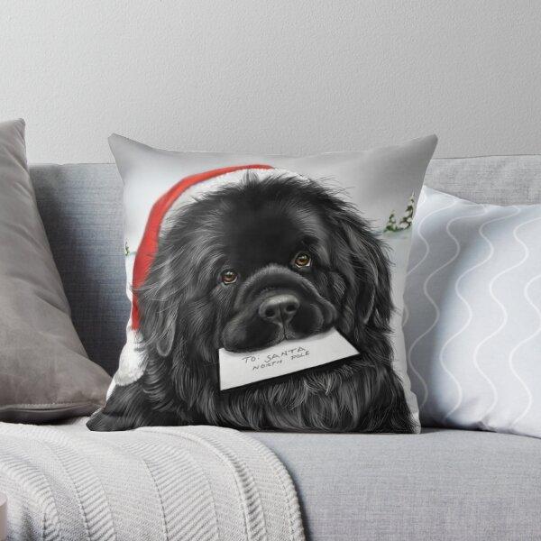 Santa Pillows Cushions Redbubble