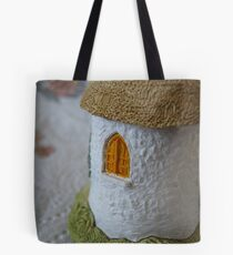 Miniature Cottage _ Shuttered window Tote Bag