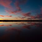 Halite Lake, Coorong, South Australia by Neville Jones