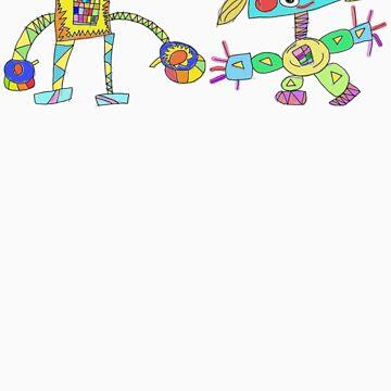 Robot Love by lexasaurus