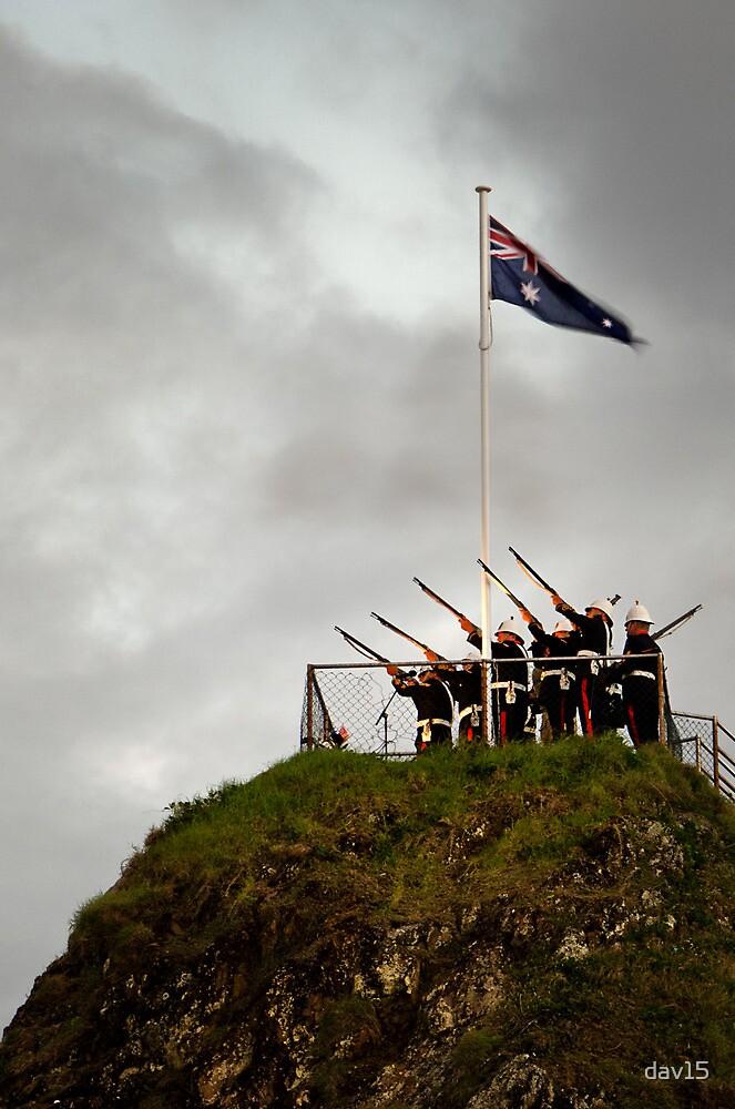 ANZAC Day Salute by dav15