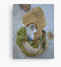 Miniature Cottage Canvas Print
