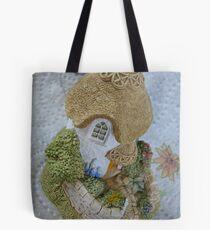 Miniature Cottage Tote Bag