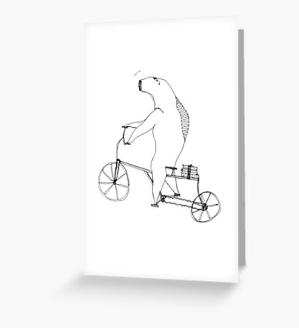 something fishy Greeting Card