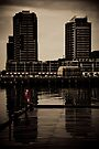 Docklands Mood by Andrew Wilson