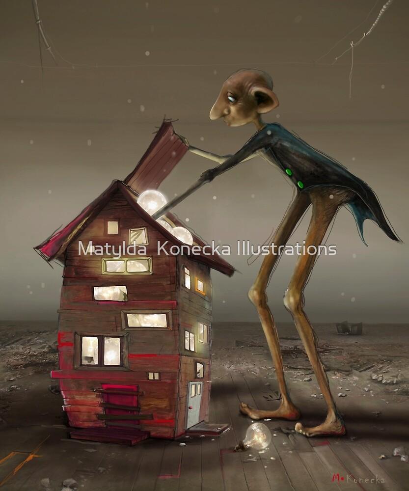 'Bulb Factory' II by Matylda  Konecka Illustrations