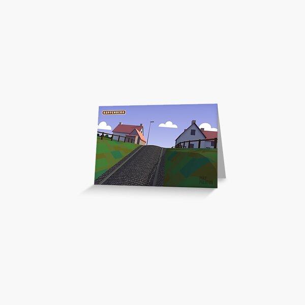 #PolyPeloton : Postcards - Koppenberg Greeting Card