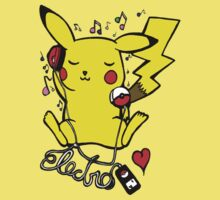 Pikachu Loves Electro Music