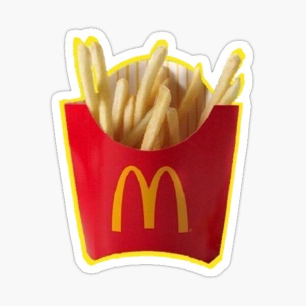 McDonald's Fries Sticker