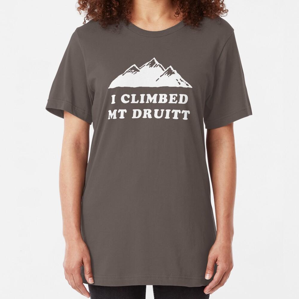 I Climbed Mt Druitt Slim Fit T-Shirt