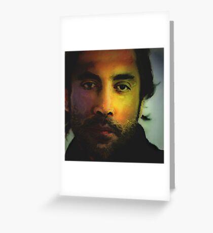 Javier Bardem... Favorite Male Actor series Greeting Card
