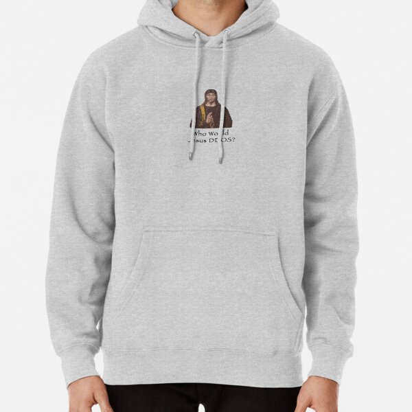 Who Would Jesus DDOS Pullover Hoodie