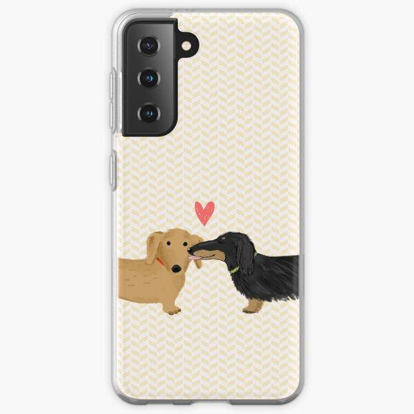 Dachshunds Love Samsung Galaxy Soft Case
