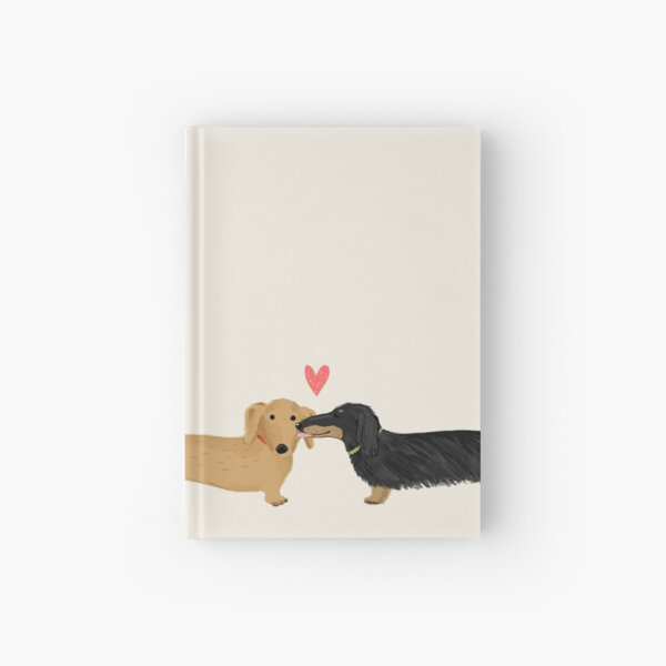 Dachshunds Love Hardcover Journal