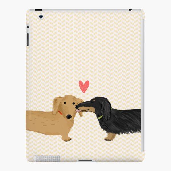 Dachshunds Love iPad Snap Case