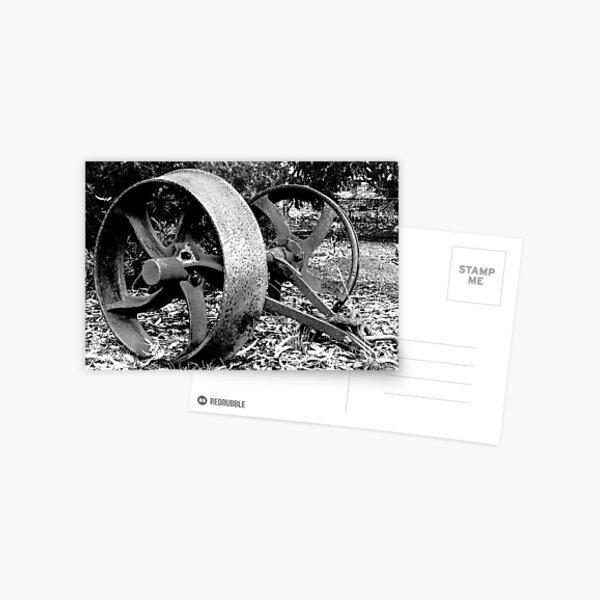 Old Wheels Postcard