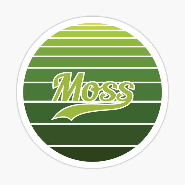 Vintage Moss Sticker
