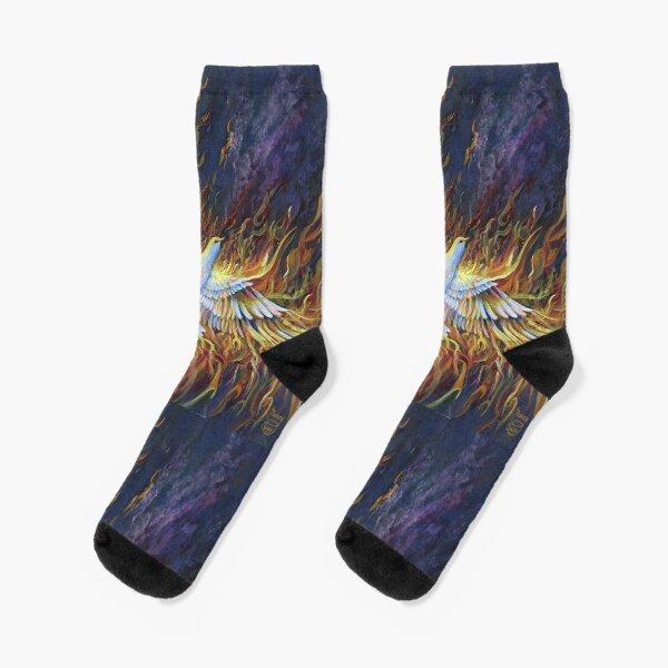 Holy Fire Socks