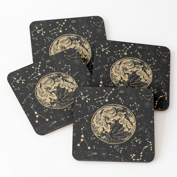 Into The Galaxy Coasters (Set of 4)