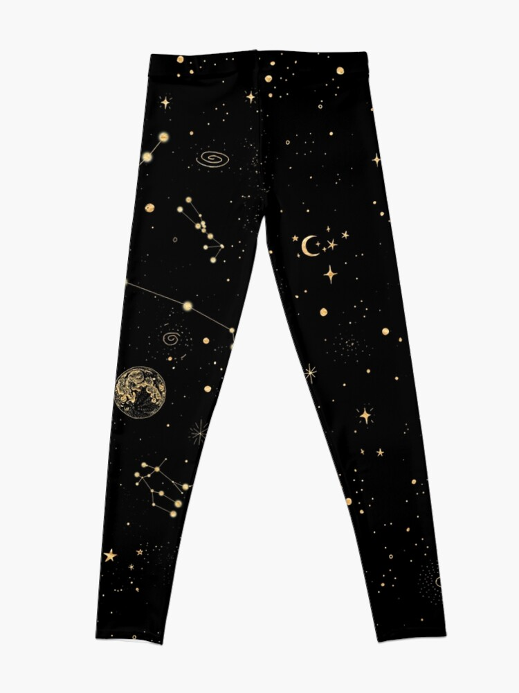 Alternate view of Into The Galaxy Leggings
