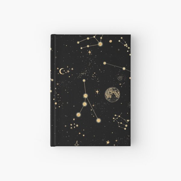 Into The Galaxy Hardcover Journal
