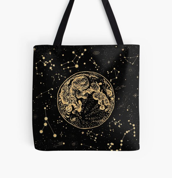 Into The Galaxy All Over Print Tote Bag