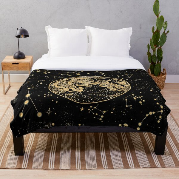 Into The Galaxy Throw Blanket