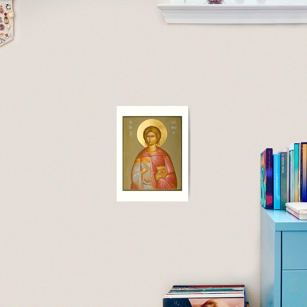 St Tryphon Art Print