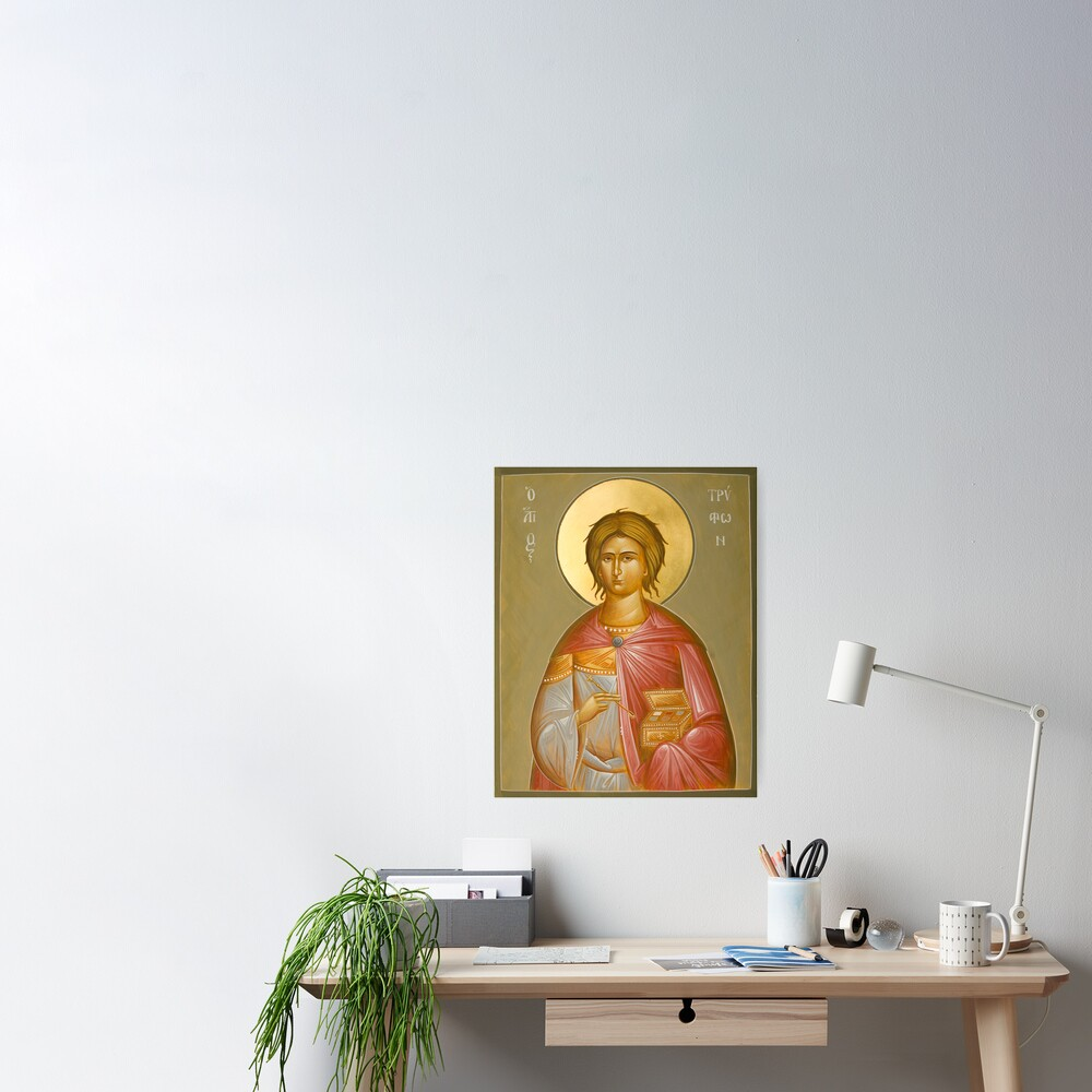 St Tryphon Poster