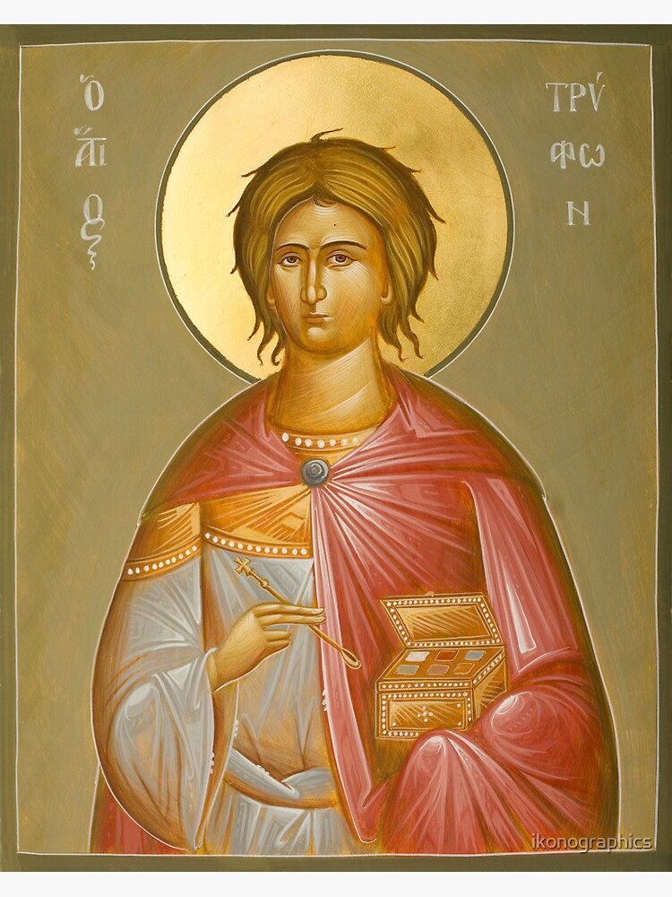 St Tryphon by ikonographics