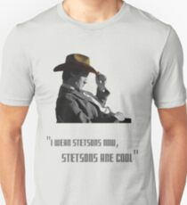 The Doctor - Stetsons are cool T-Shirt