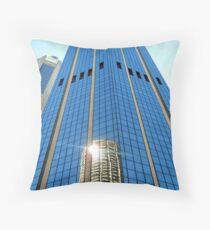 Office Blocks in Sydney Throw Pillow