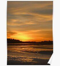 Port Hedland Sunset Poster