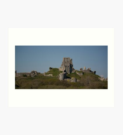 Corfe Castle, Dorset Art Print