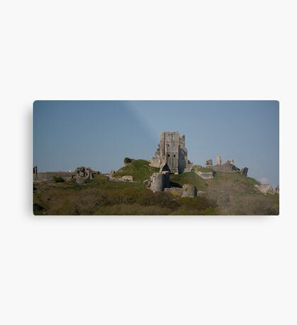 Corfe Castle, Dorset Metal Print