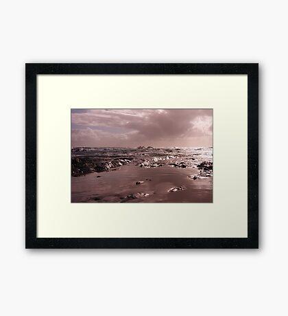 The Edge Of The World Framed Print