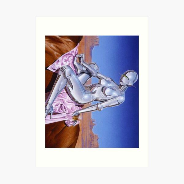 Hajime Sorayama Cowgirl Art Print