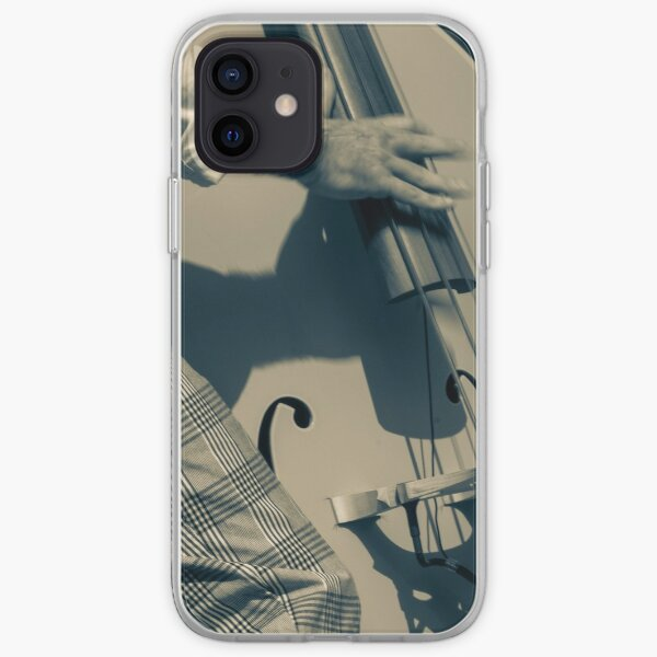 playing double bass iPhone Soft Case