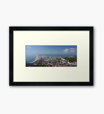 Portland Dorset Framed Print